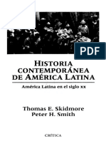 Skidmore, Thomas & Peter H. Smith - Historia Contemporánea de América Latina.pdf.pdf