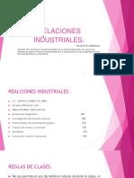 Relaciones Industriales. Unidad 1