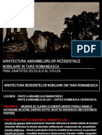 13-14. Arhitectura Brancoveneasca Si Veacul Fanariot