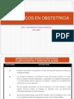 1. Antibióticos en Obstetricia