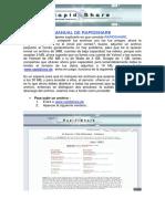 Rapidshare Manual