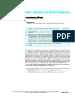 AYEL Jean - Lubrifiants pour moteurs thermiques - Marche et consommatio