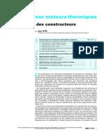 AYEL Jean - Lubrifiants Pour Moteurs Thermiques - Specifications Des Con