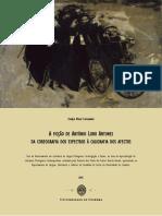 FERNANDES, Evelyn B. - A Ficção de António Lobo Antunes, Da Coreografia Dos Espectros à Caligrafia Dos Afectos