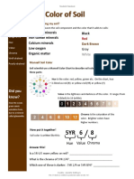The Color of Soil - Student Handout