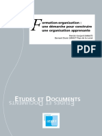Formation Et Organisation Apprenante
