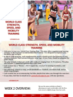 World Class Strength Speed Mobility SAMPLE