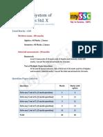 Paper Format Maths