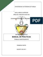 Inf I Manual de Prácticas 2011-2012