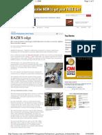 Minicaso Desarrollo Del RAZR en Motorola