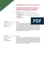 Revision CKI Canulas de Traqueostomia Para Adultos