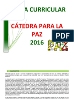 Malla Curricular Catedra de La Paz