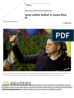 Christian Singer Faces Leftist Author in Costa Rica Presidential Runoff _ World News _ US News
