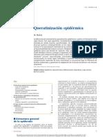 queratinización epidermica