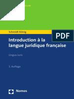 Introduction à La Langue Juridique Française