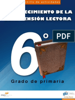 Cuadernillo de actividades - FORTALECIMIENTO DE LA COMPRENSION LECTORA - 6 GRADO DE PRIMARIA.pdf