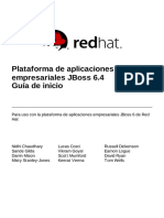 JBoss Enterprise Application Platform-6.4-Getting Started Guide-es-ES