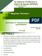 Parametro de Projecto e Funcionamento de Um MCI - Exrcicios