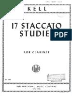 17 Estudios  Staccato  de R. Kell.pdf