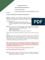 Planejamento de Curso SP 2018.2 Conflitos Socio Ambientais