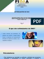 Estimulantes Do Snc