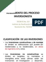 Proceso Inversionista
