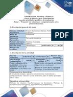 Guía de actividades y rúbrica de evaluación Paso 1_Proponer las soluciones computacionales a los problemas dados.pdf