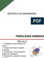 Aula Biofísica Da Membrana