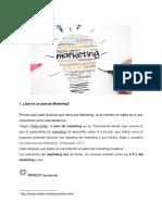 Foro 1. Plan de Marketing