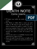 Death Note Pagina