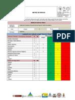 Matriz de Riesgo Fisico - Gestion Del Riesgo