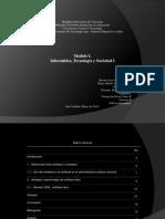 Modulo I. Informática, Tecnología Y Sociedad I FSC