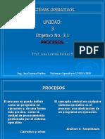 Unidad III- Obj.3.1 Procesos en Los SO (1)