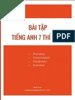 Bai Tap Tieng Anh 7 Thi DiemKhong dap an.pdf