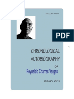 Chronological Autobiography of RCHV
