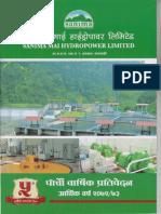 Sanima Mai Annual Report 72-73