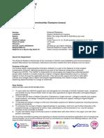 Job Description HaDAC