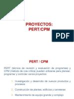 Proyectos PERT CPM