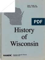 History of Wisconsin Study Guide for History U448-390