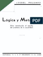 Loedel-Logica y Metafisica3