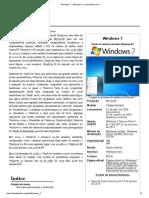 Windows 7 – Wikipédia, A Enciclopédia Livre