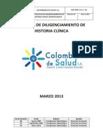 Protocolo Hcl Odon