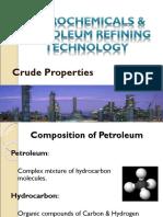 Crude Properties
