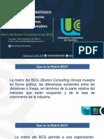 Matrices Bcg