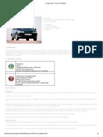 Peugeot 106 - Ficha de Fiabilidad