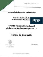 Manual de Operación ENEIT 2017