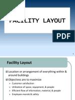 Facilities Layout- Group 6