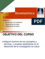 Bioestadistica Primera Clase