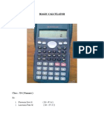 Produk Kalkulator I