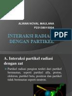 Interaksi Radiasi Dengan Partikel